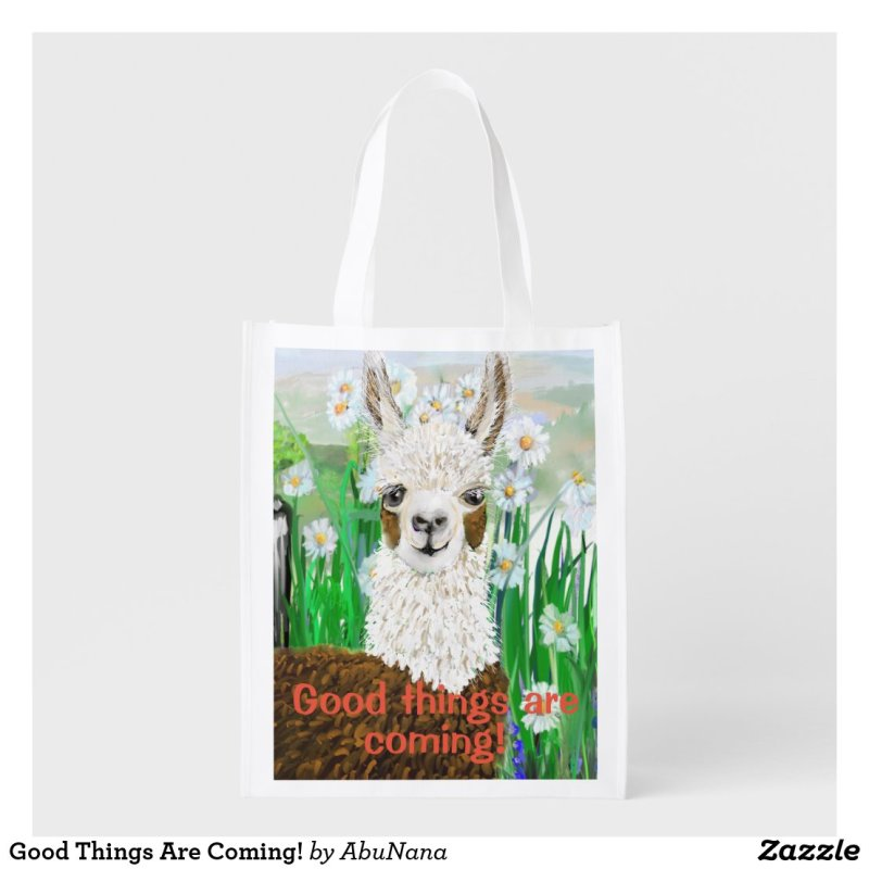 Good Things Are Coming! Grocery Bag