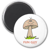 Goofy Funny Gift Magnet For Your Favorite Fun Guy! magnet
