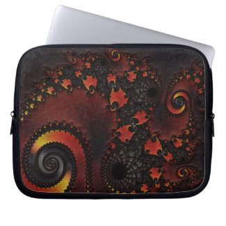 Gorgeous Fractal Art Laptop Computer Sleeve