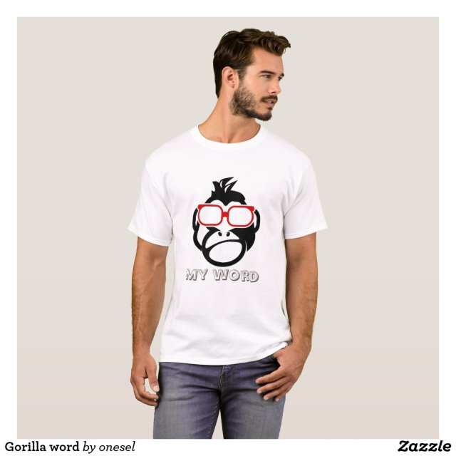 Gorilla word T-Shirt