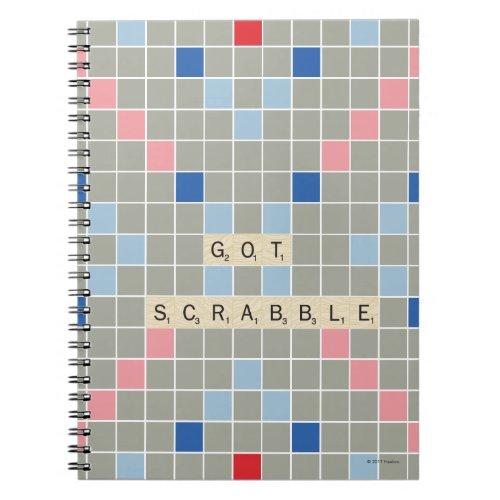 Got Scrabble Notebook