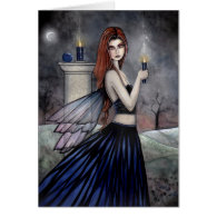 Gothic Fairy Card by Molly Harrison