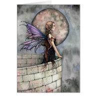 Gothic Fairy Greeting Card ~ Blank