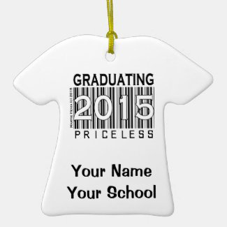 Graduating 2015 - Rearview Mirror Ornament