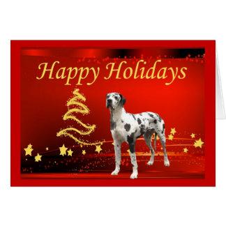Great Dane Christmas Cards Zazzle