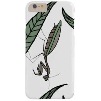 Green And Brown Praying Mantis On Green Grass Barely There iPhone 6 Plus Case