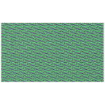 Green Blue Color Swish Tablecloth