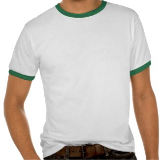 Green/White Vintage Lucky Charm Shirt
