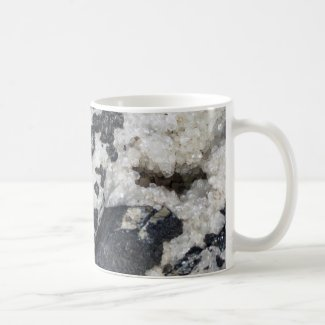 Grey Granite and Quartz Mug