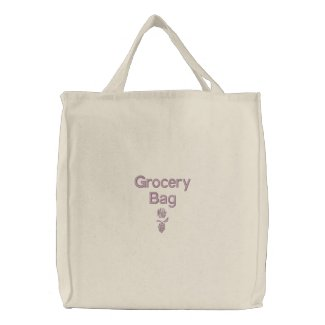 Grocery - Embroidered Bag | Personalize
