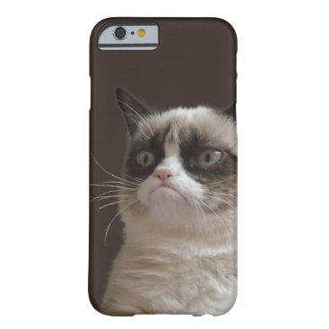Grumpy Cat Glare Barely There iPhone 6 Case