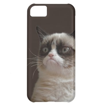 Grumpy Cat Glare Cover For iPhone 5C