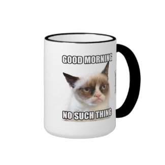 Grumpy Cat™ Good Morning - No Such Thing Coffee Mug