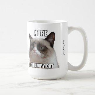 Grumpy Cat Mug - NOPE. GRUMPY CAT
