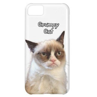 Grumpy Cat Phone Case iPhone 5C Cover