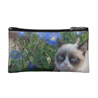 Grumpy Cat Purse (Baguette Bag) Makeup Bag