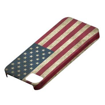 Grunge US Flag iPhone SE/5/5s Case