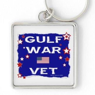 Gulf War Vet Keychain