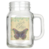 Gypsy Butterfly Gypsy Collection Mason Jar