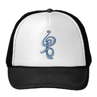Hakuna Matata ~ blue symbol Mesh Hat