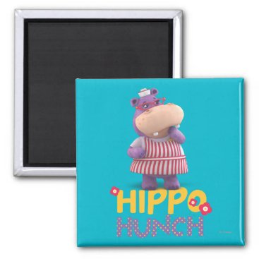 Hallie - Hippo Hunch Magnet