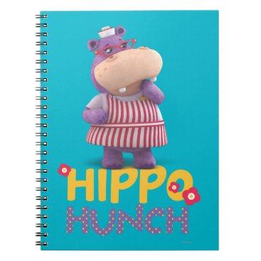 Hallie - Hippo Hunch Notebook