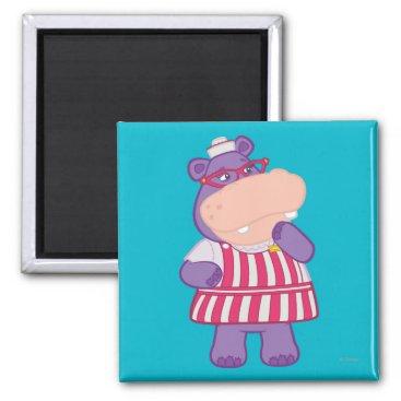 Hallie the Happy Hippo Magnet