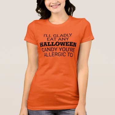Halloween Candy Humor T-Shirt