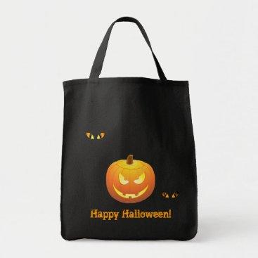 "Halloween  Jack O Lantern ""trick or treating"" bag"
