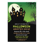 Halloween Party Haunted House Horror Bats Invite