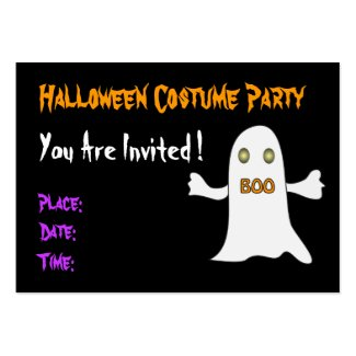 Halloween party - Invitation profilecard