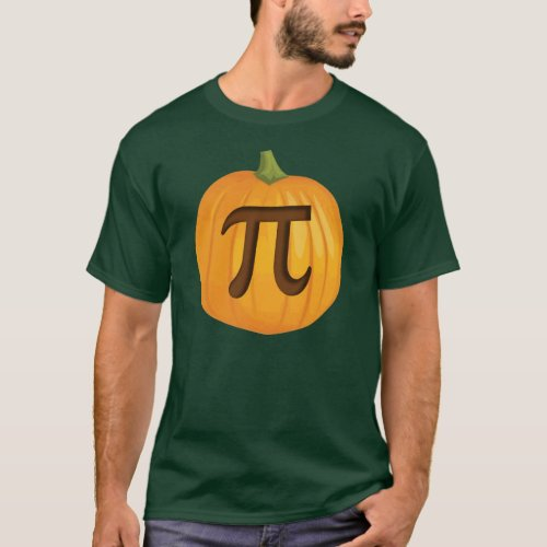 Halloween Pumpkin Pie Pi T-Shirt