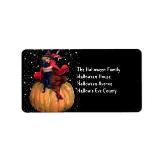 Halloween: The Final Frontier Address Label