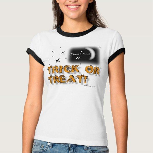Halloween - Trick or Treat Shirt (#7) shirt