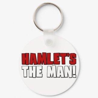 Hamlet's The Man keychain