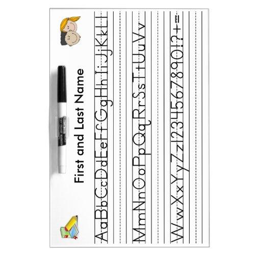 Handwriting Board, Horizontal Dry-Erase Board