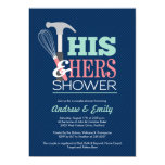 Handy Couple Shower Invitation