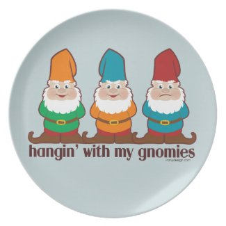 Hangin' With My Gnomies Party Plates
