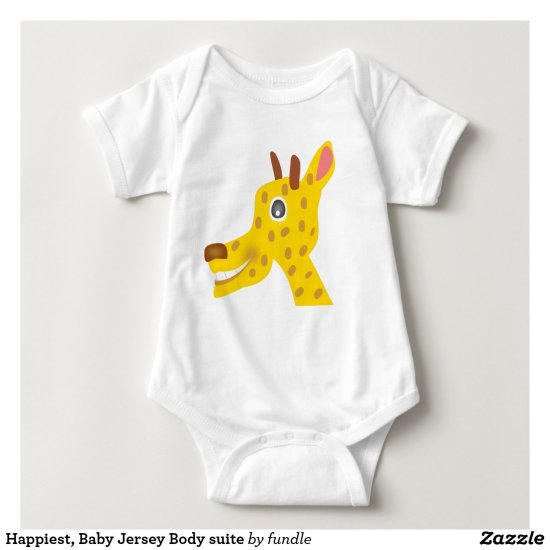 Happiest, Baby Jersey Body suite Baby Bodysuit