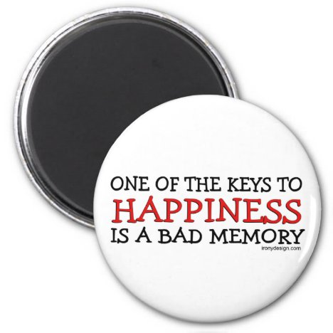 Happiness is a Bad Memory Magnet