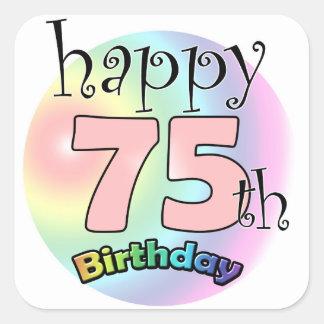 247+ Happy 75th Birthday Stickers and Happy 75th Birthday ... (324 x 324 Pixel)
