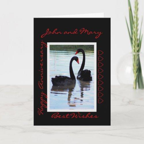 Happy Anniversary, John and Mary card