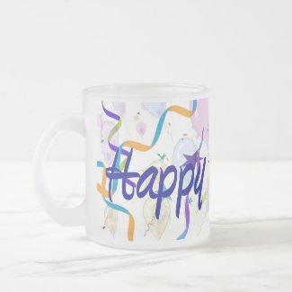 Happy Birthday - Balloons - Mug mug