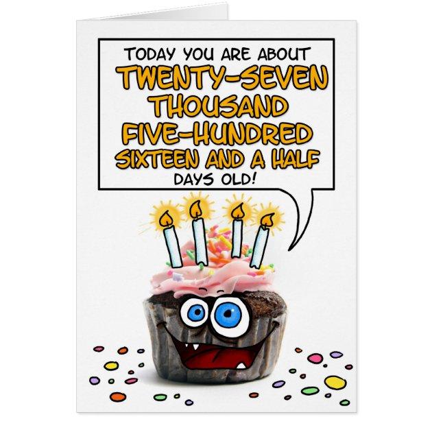 Birthday Invitations 75 Years Old