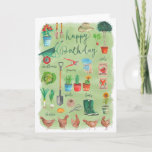 ❤️  Happy Birthday Gardening Garden | Greeting Card