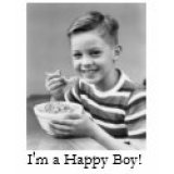 Funny T-Shirts & Gifts - I'm A Happy Boy