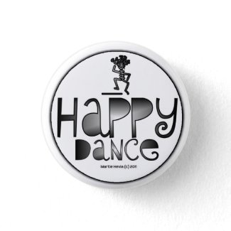 Happy Dance - A Positive Word button