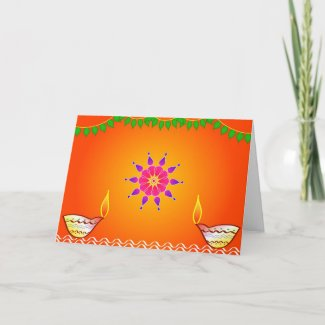 Happy Diwali - Card card