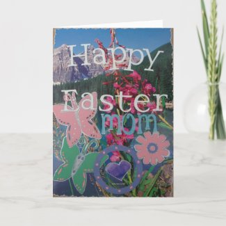 Happy Easter - Scrapbook 2 - Card - Personalize card