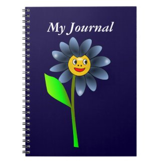 Happy Flower Notebook